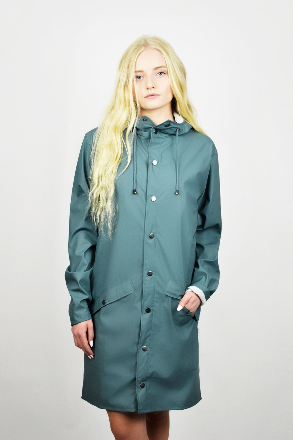 RAINS LONG JACKET. Standard Goods. $125.