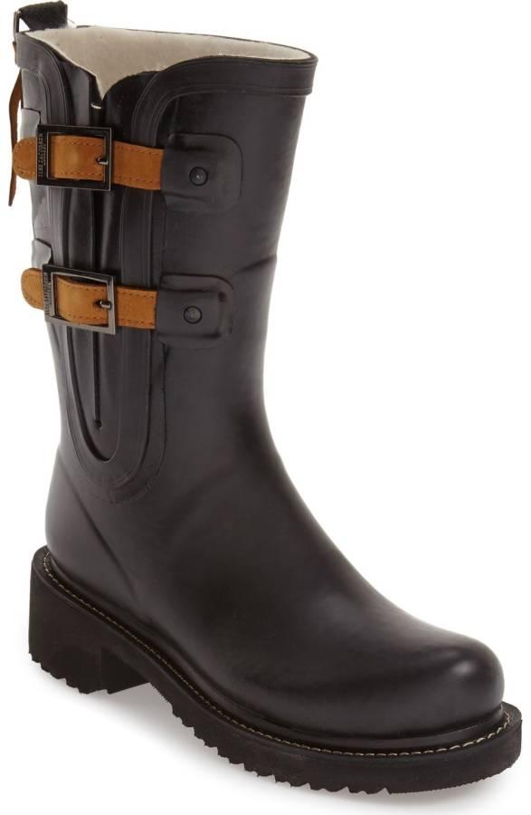 Ilse Jacobsen Waterproof Buckle Detail Snow/Rain Boot. Nordstrom. $279.