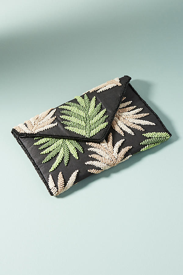 Embroidered Hamilton Clutch. Anthropologie. $98.