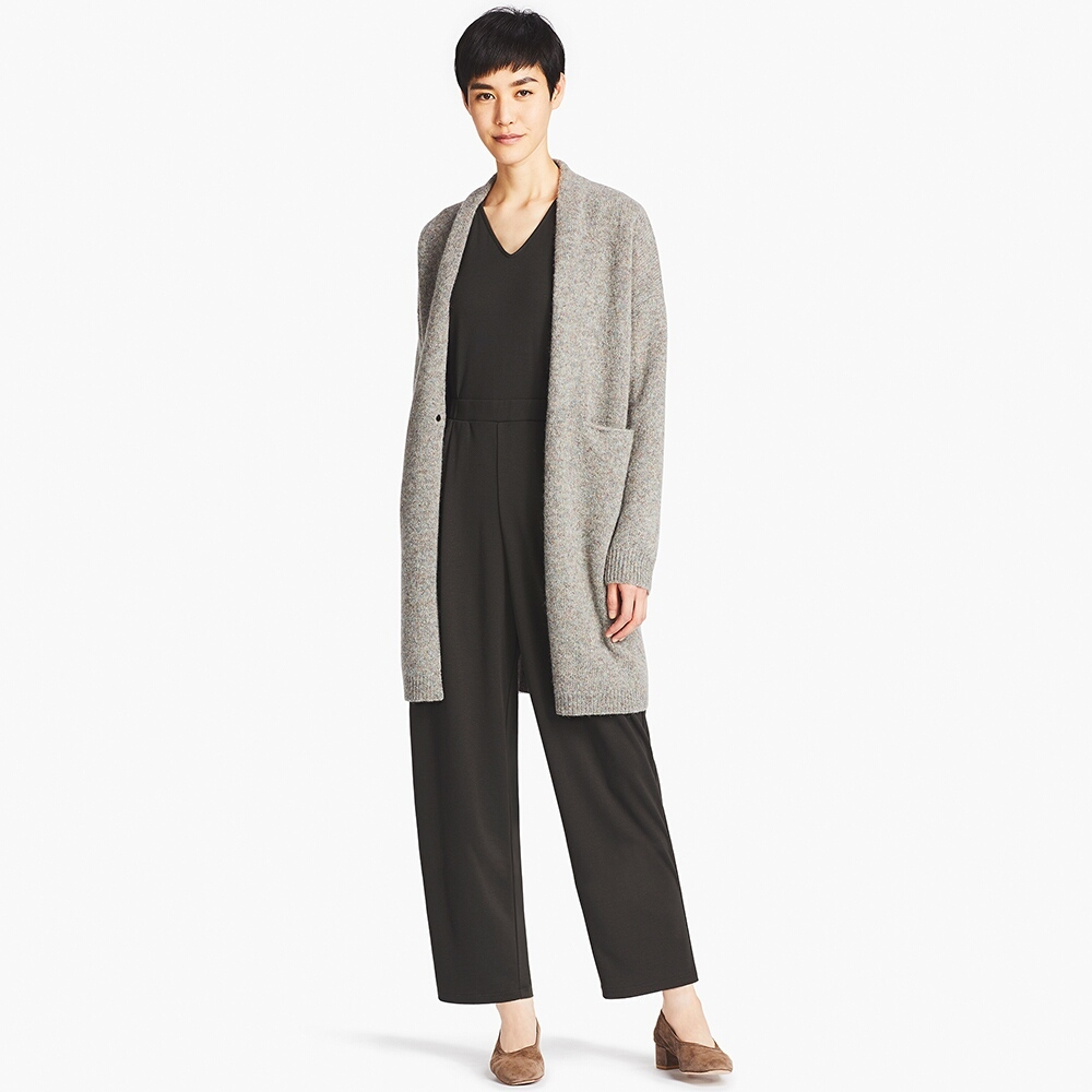 MELANGE WOOL COAT. Available in three colors. Uniqlo. $39.