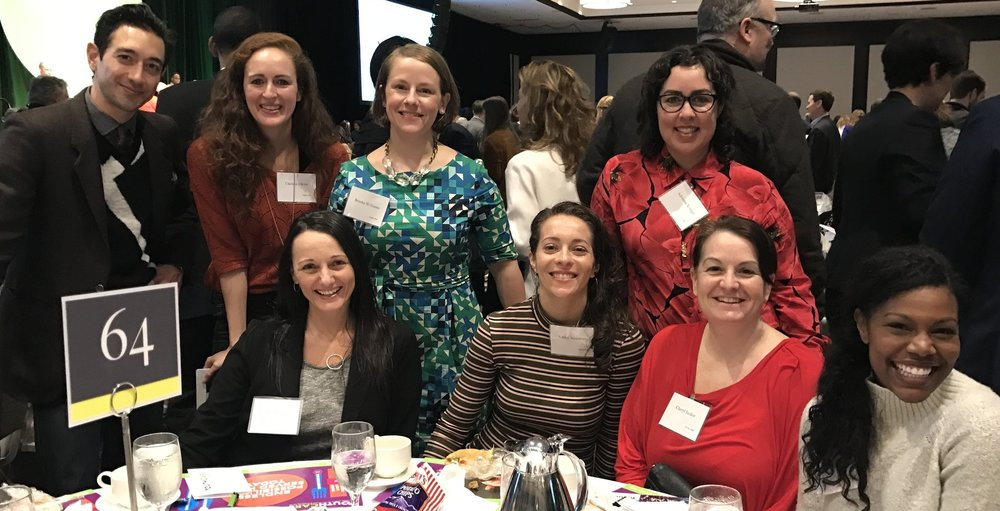 Here are a few of the folks at the Poplin tables at the 2017 YouthCare Luncheon. It takes a village and here are a few people in mine.