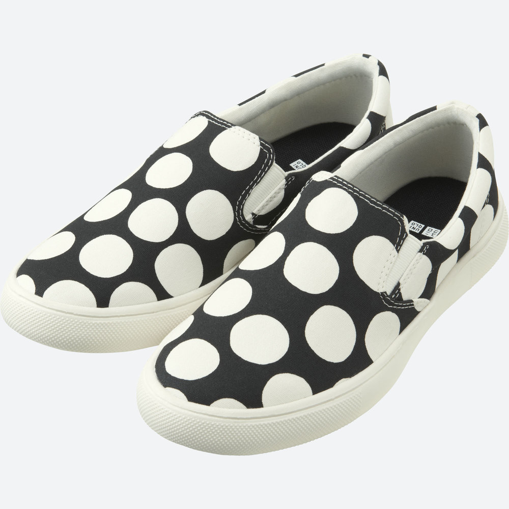 MARIMEKKO CANVAS SNEAKERS. Uniqlo. $19.