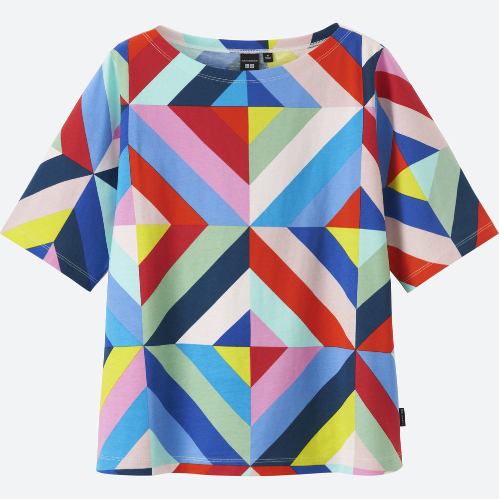 MARIMEKKO SHORT-SLEEVE GRAPHIC T-SHIRT. Uniqlo. $14.