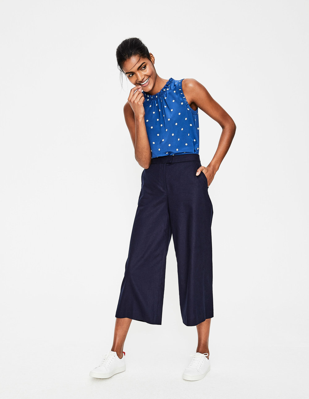 WIDELEG CULOTTES. Available in two colors. Boden. $95.