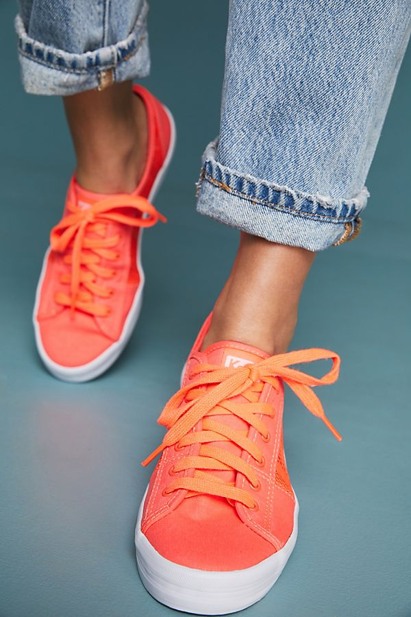Want a stranger to compliment you on your sneakers? This is all it takes. Remember, clothes make people happy and they are a great ice breaker, too.  Keds Air Mesh Sneakers. Anthro. $58.