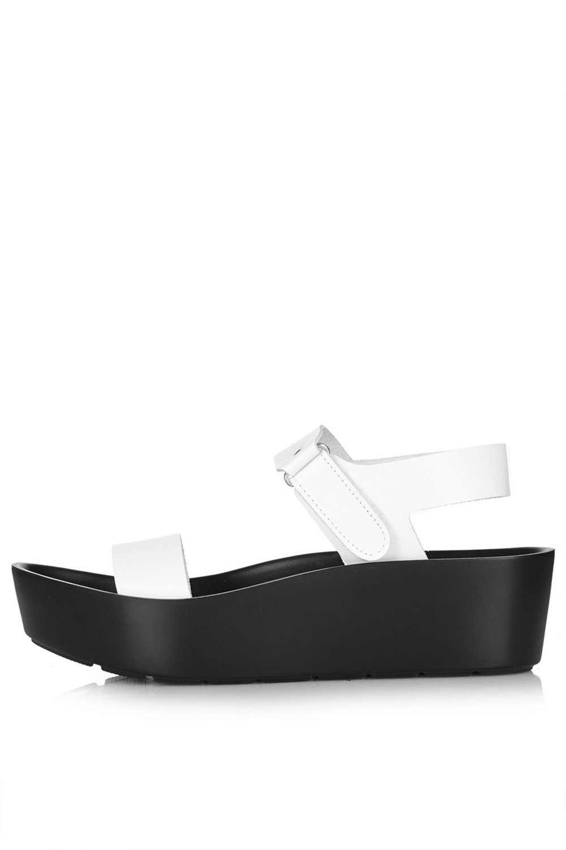 FERN Sunken Wedge Sandals. Topshop USA. $65.