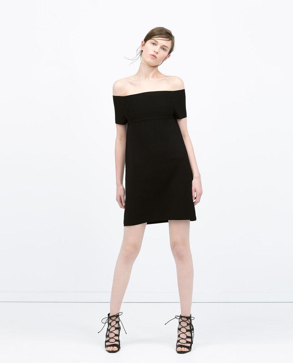 Off Shoulder Dress. Zara. $79.90.