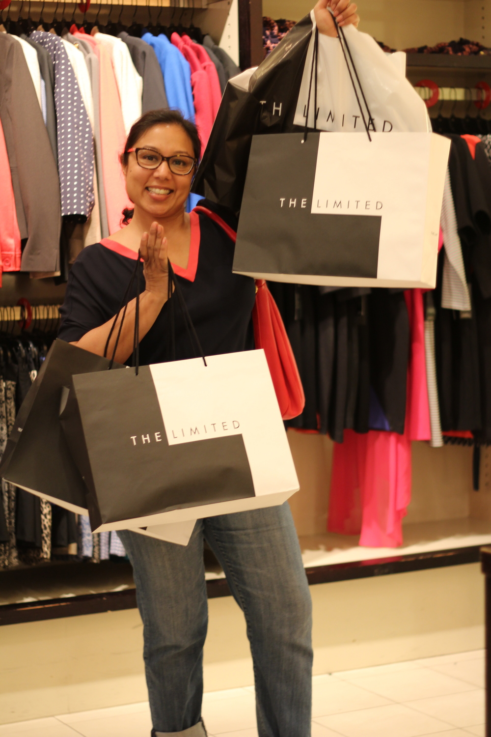The enthusiastic Rupali Jain won a gift card at last year's event and headed home with a pretty impressive stash. Will she win again? Or- will it be YOU?