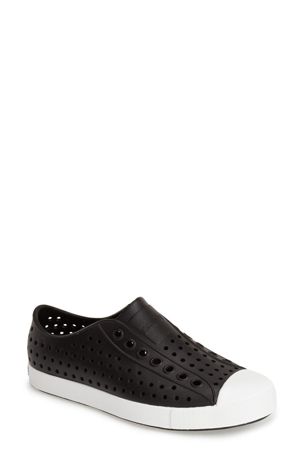 Native Shoes Jefferson Water Friendly Perforated Sneaker. Available in multiple colors. Nordstrom. $46.95.