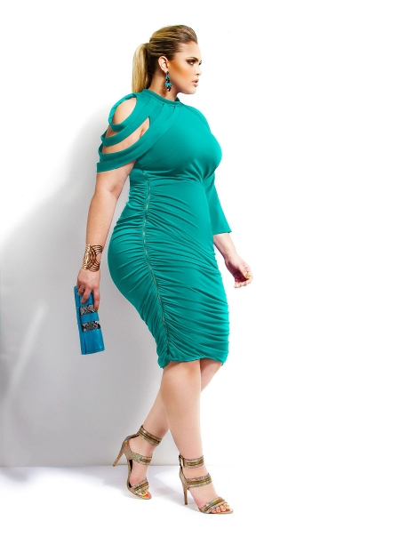 Dahlia Ruched Dress. Monif C. Available in other colors. $188