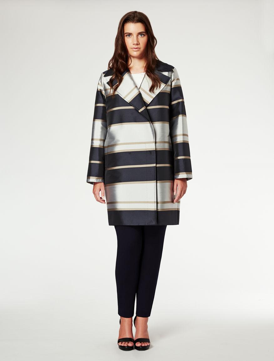 Duchesse Coat. Marina Rinaldi. Price on Request.