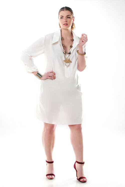 Shirt dress. Jibri. $140.00
