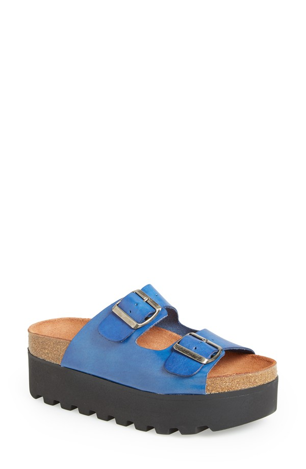 SIXTYSEVEN Lisa Leather Platform Sandals. Nordstrom. $89.