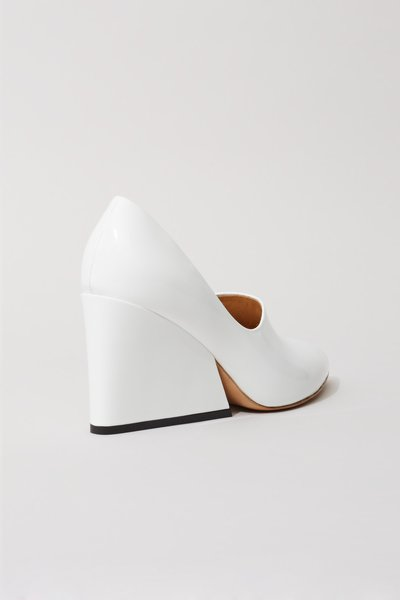 Acne Studios Ilona 85 Chunky Heels. Opening Ceremony. $670. An option for  WEAVE Walk A Mile in Her Shoes 2015.