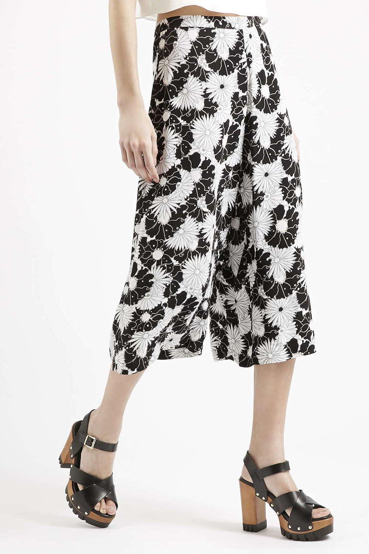 Topshop Floral Print Culottes. Topshop. $60.