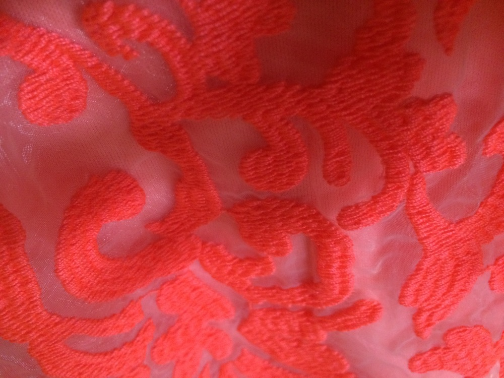 A sneak peak of my dress for the F-Factor Gala. Thanks, CoLAB!