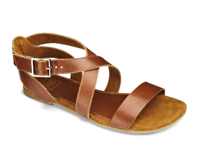 Sole Diva Leather Strappy Sandal EEE Fit. Simply Be.  Also comes in Black. $49.95 Wide Width