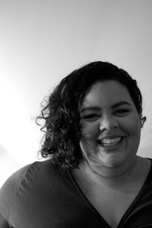 Poplin Contributor and guru on plus size fashion, Jordan Richardson. Photo by Emily Dymond Photography.