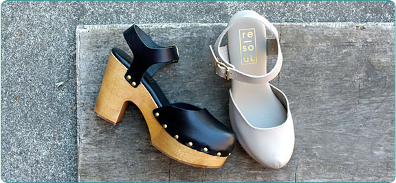 The re-souL Collection Tilda. Available in black, grey. re-souL. $178.