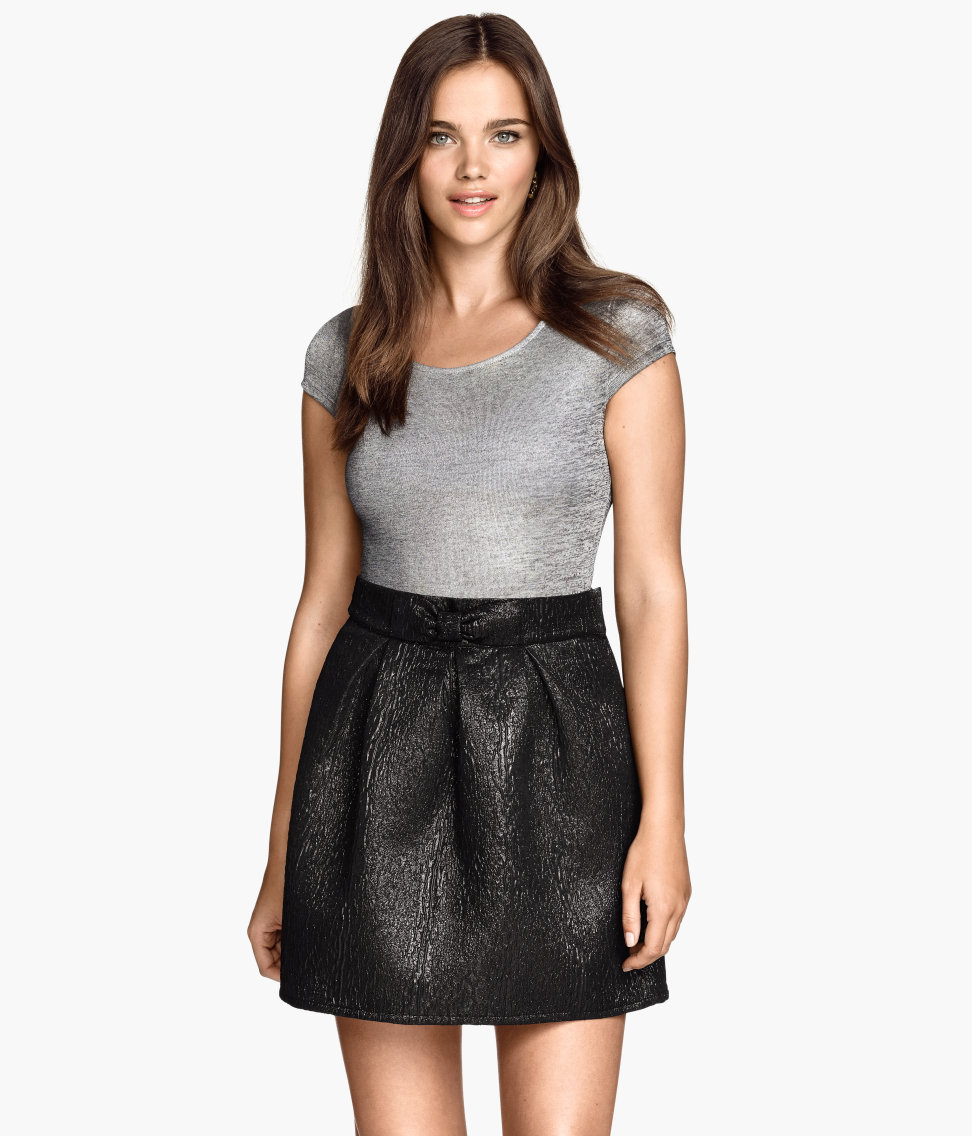 Brocade Skirt. H&M. Was: $30 Now: $15.