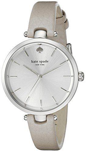 Kate Spade New York Holland Analog Display Japanese Quartz Grey Watch. Amazon. List price: $175 Now: $144.