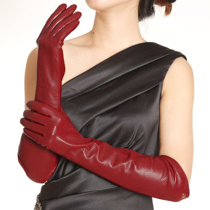 ELMA Long Nappa Leather Driving Gloves. Amazon. $44.