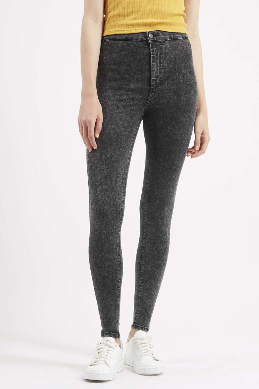 MOTO Black Acid Joni Jeans. Topshop USA. $65.