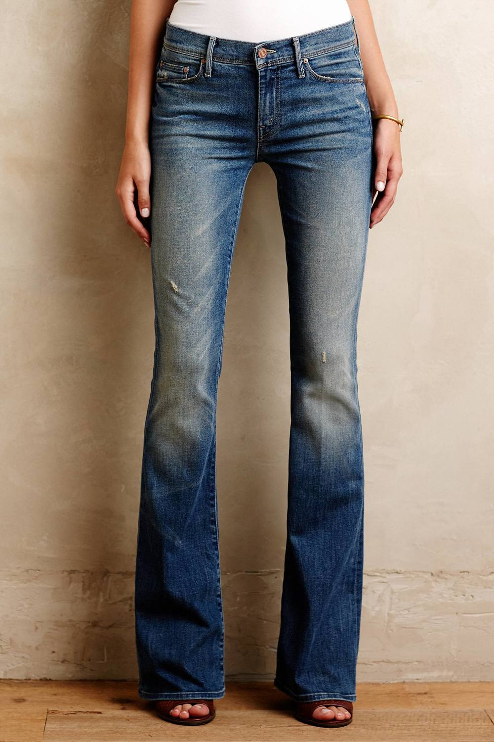 Mother Cruiser Flare Jeans. Anthropologie. $230.