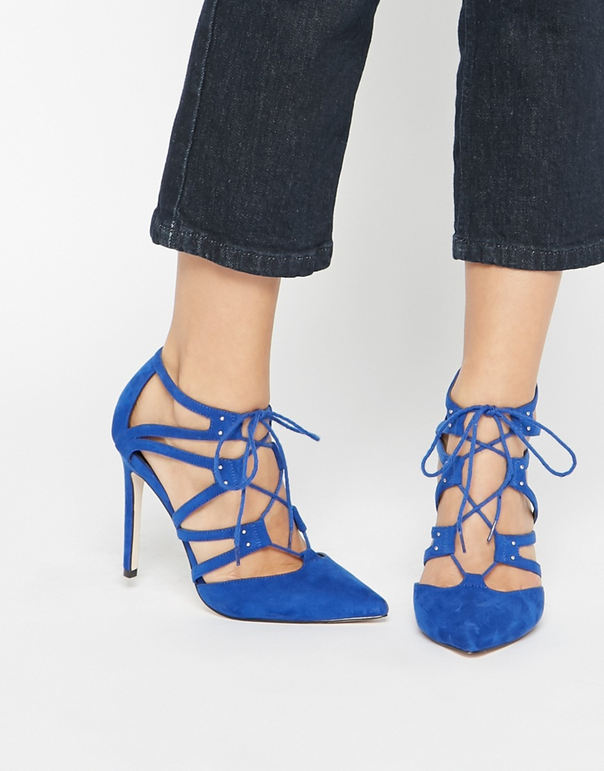 Pacific Wide Fit Lace Up Heels. ASOS. $62.70.