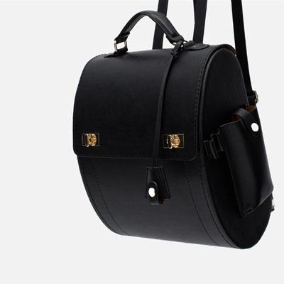 Rigid Backpack. Zara. $69.90.
