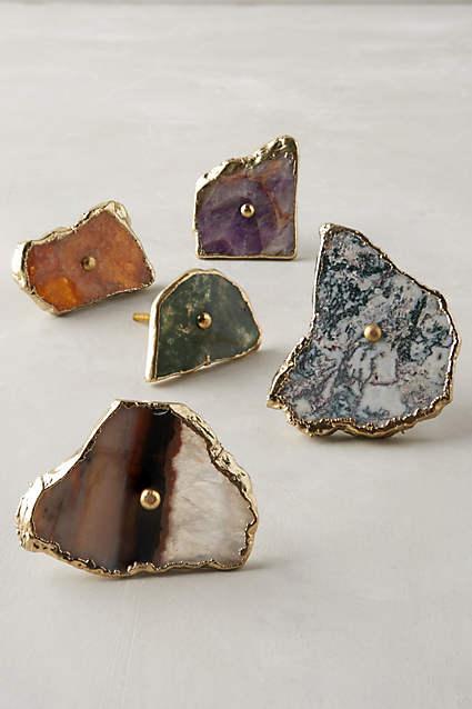 Swirled Geode Knob. Anthropologie. $24.00.