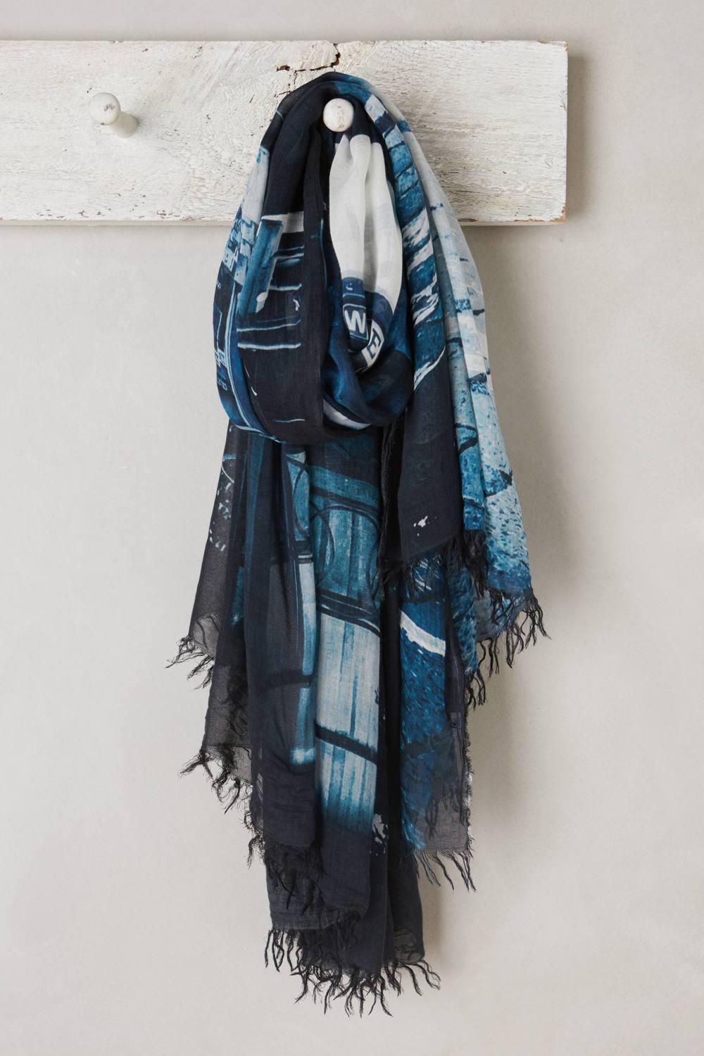 Vogue En Bleu Scarf. Anthropologie. $286.