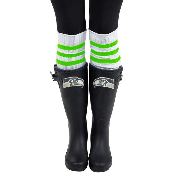 Cuce Seattle Seahawks Frontrunner Rain Boots. Seahawks Pro Shop. $109.