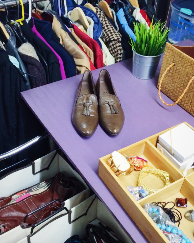 Italian leather shoes from re-souL's house collection, donated to YouthCare as part of re-souL's shoe drive for homeless youth. There's still time to  give here