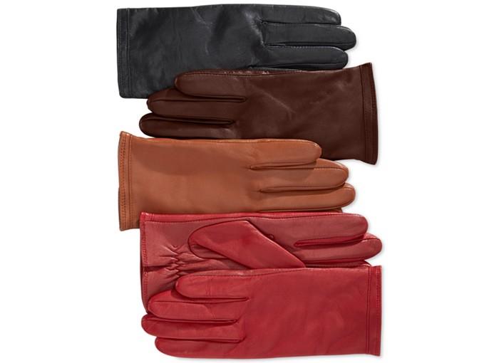 Charter Club Tech Palm Fleece Lined Gloves. Macy's. $78.00