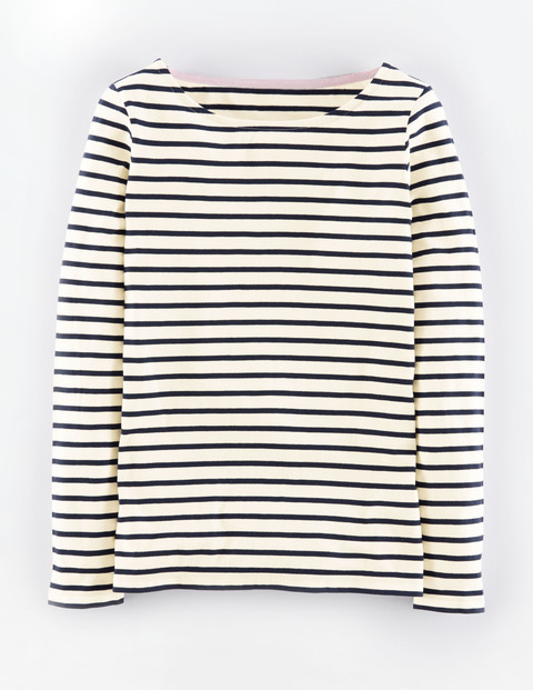 Long Sleeve Breton WL792. Available in multiple color combinations. Boden. $38.