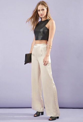 Faux Leather Crop Top. Forever 21. $17.