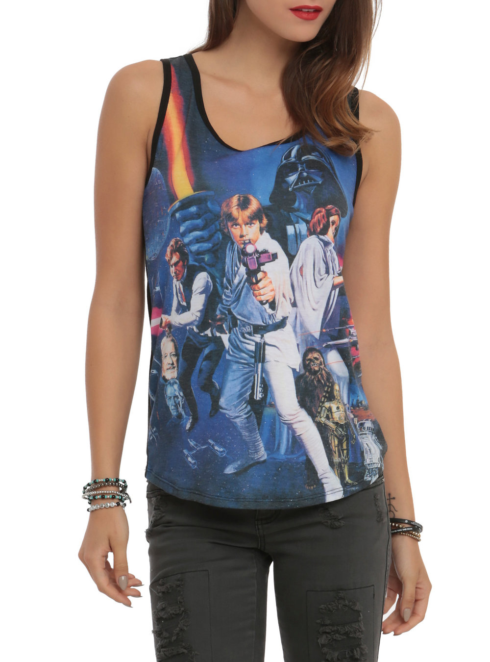 Star Wars Her Universe New Hope Muscle Shirt. Hot Topic. $24-28. Additional 30% off now.