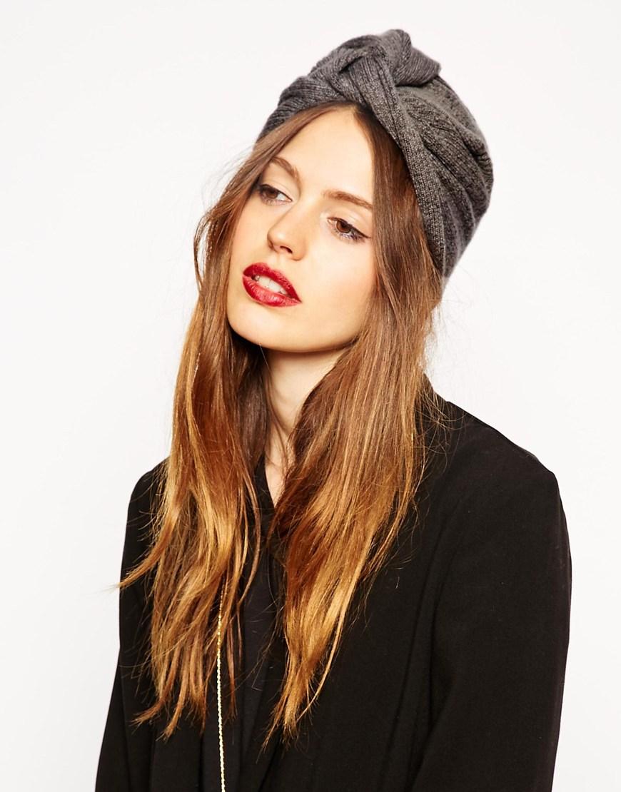 Fine Rib Knit Turba Hat. ASOS. $18.