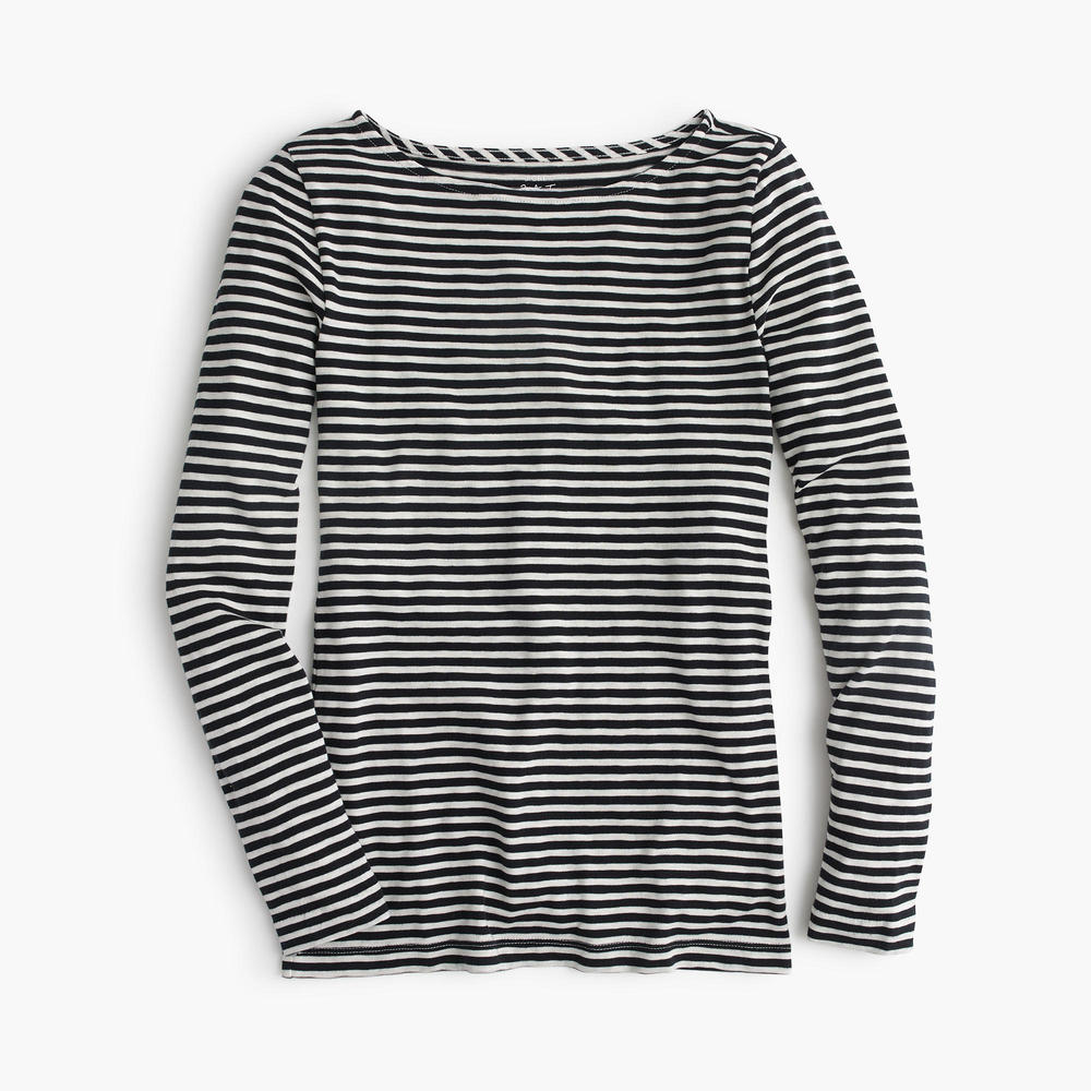 Painter Boatneck T-shirt. Available in multiple colors. J.Crew. $29-39 with additional 40% off with code: SHOPNOW.