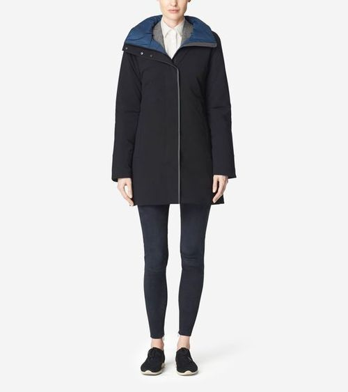 ZeroGrand Metro Coat. Available in three colors. Cole Haan. Was: $400 Now: $299.