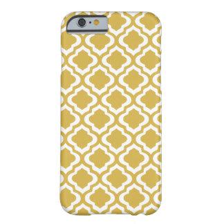 Gold Moraccan Quatrefoil Pattern iphone case. Zazzle. $42.