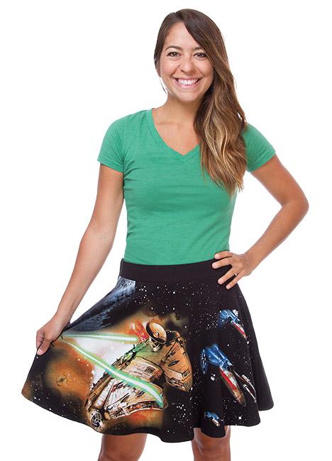 Star Wars Fighter Scene Skirt. Think Geek. $39.