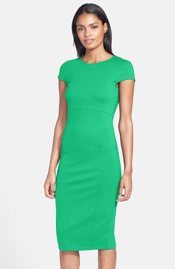 Felicity & Coco Seamed Pencil Dress. Available in multiple colors and in petite. Nordstrom. $98.