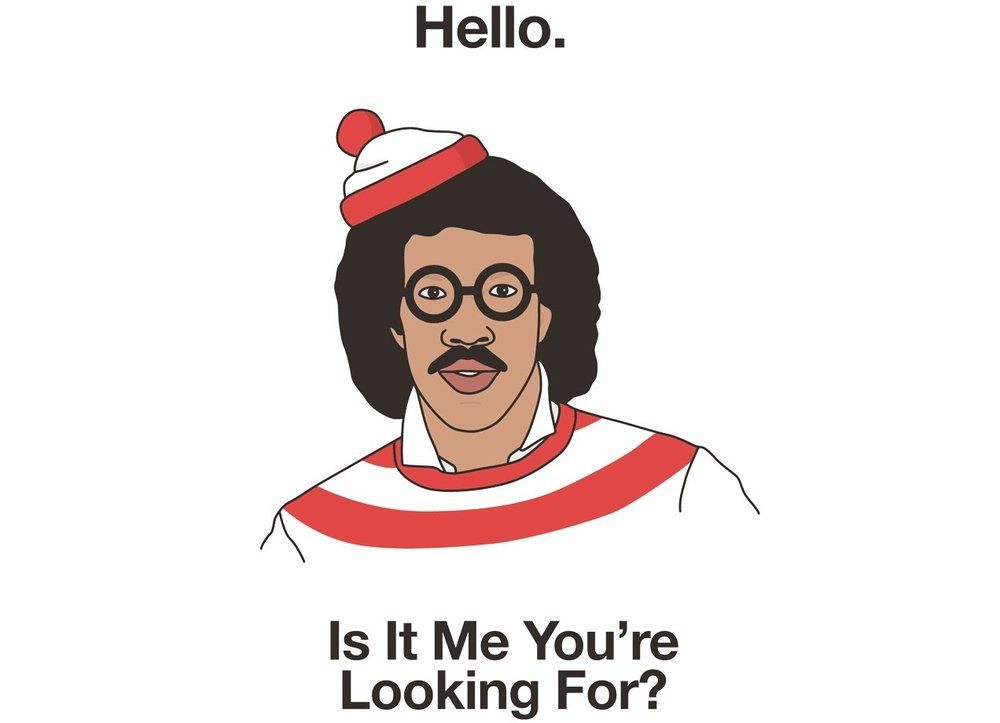 Hello by Haasbroek. Threadless. Was: $25 Now: $15.