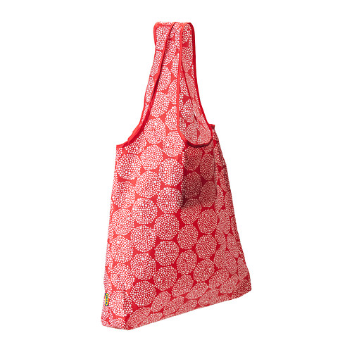 Knalla Carry On Bag. Available in black, red pattern, grey pattern. $1.49 Ikea Family Member Price: $.99.