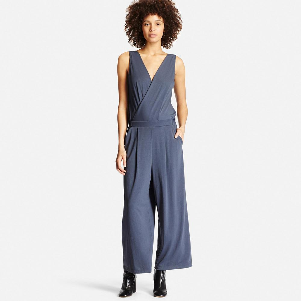 Cache Coeur Jumpsuit. Available in multiple colors. Uniqlo. $29.