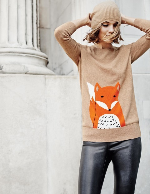 Animal Intarsia Sweater. Available in multiple colors/ patterns. Boden. Was: $138 Now: $110-$69.