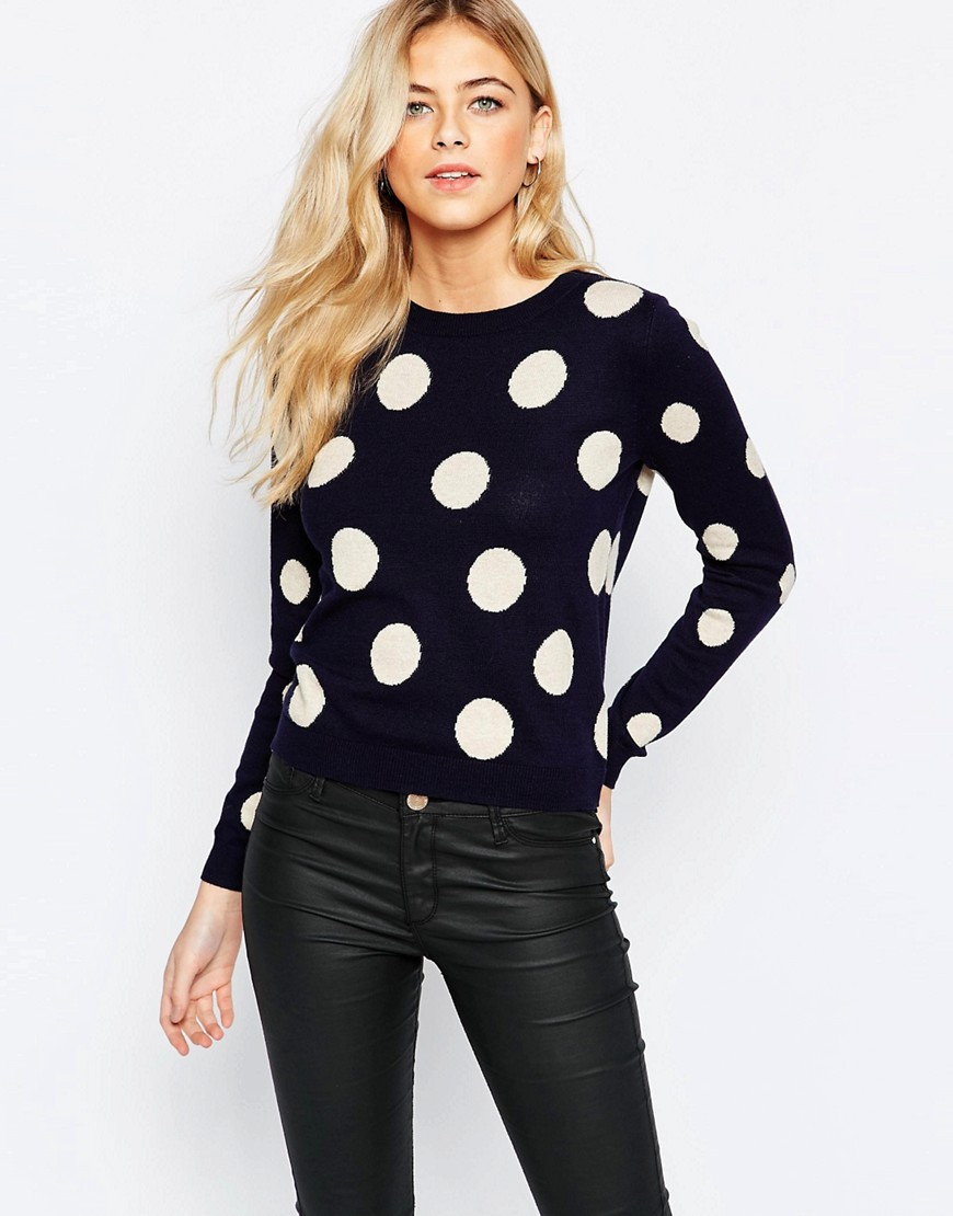 Oasis Spot Intarsia Sweater. ASOS. Was: $65 Now: $39.