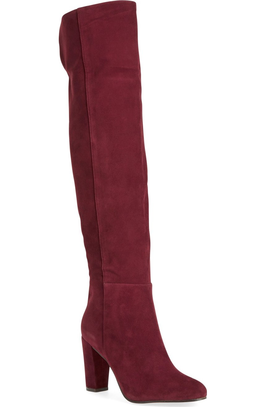 Halogen® ' Noble' Over the Knee Boot. Multiple colors available. Nordstrom. Was: $189 Now: $109.